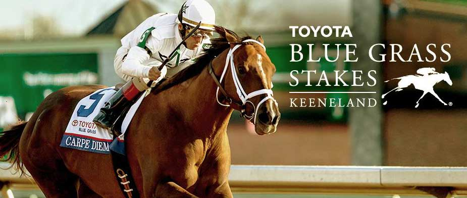 Bet on the 2016 Blue Grass Stakes with OTB