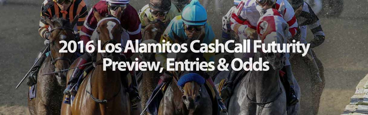2016 CashCall Futurity Betting Preview & Odds