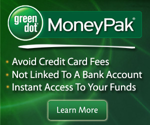 Green Dot MoneyPak Deposits