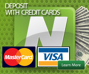 Horse Betting Credit Card deposits with Neteller