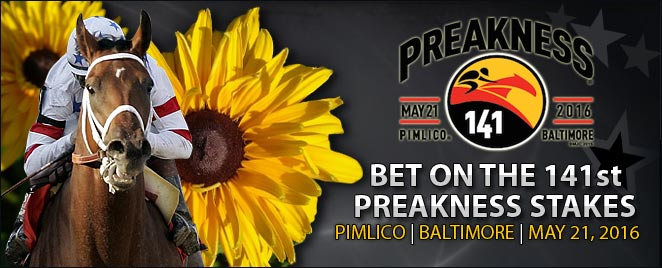 Bet the 2016 Preakness Stakes Online