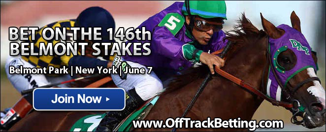 where to bet online for belmont stakes