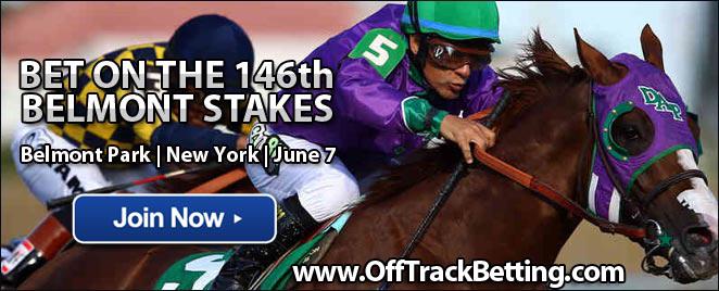 belmont race track online betting
