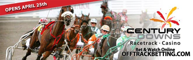 Century Downs Harness Racing Betting