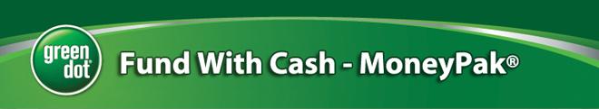 OTB Account funding with Green Dot MoneyPak