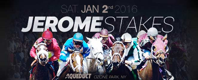 Jerome Stakes 2016 At Aqueduct Racetrack Off Track Betting