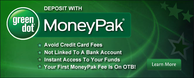 OTB Account Wagering with MoneyPak