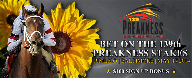 Bet the Preakness Stakes at OTB