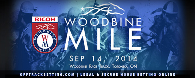 Woodbine Mile 2014 OTB